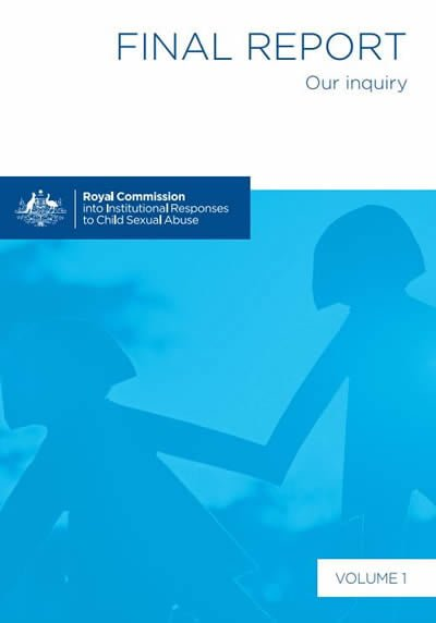 Royal Commission delivers its final report (17 volumes) to the Governor-General