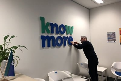 knowmore's Melbourne office opens