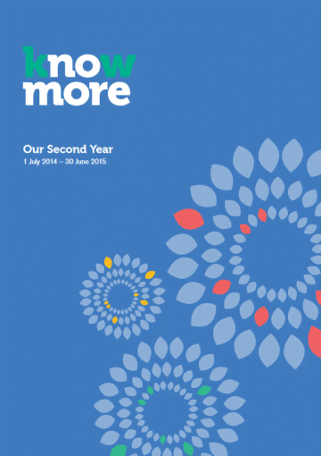 Our Second Year, 1 July 2014 – 30 June 2015
