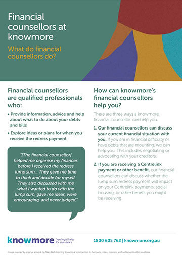 knowmore financial counselling fact sheet